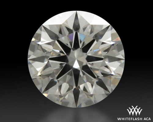 0.763 ct F SI1 A CUT ABOVE® Hearts and Arrows Super Ideal Round Cut Loose Diamond