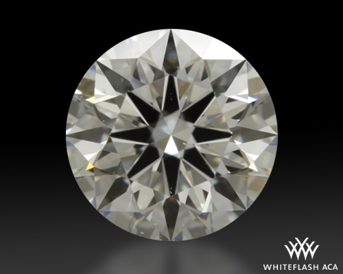 0.745 ct H VS2 A CUT ABOVE® Hearts and Arrows Super Ideal Round Cut Loose Diamond