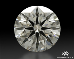 0.797 ct H VS2 A CUT ABOVE® Hearts and Arrows Super Ideal Round Cut Loose Diamond