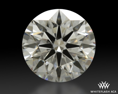 0.762 ct H VS2 A CUT ABOVE® Hearts and Arrows Super Ideal Round Cut Loose Diamond