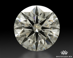 0.818 ct K VS2 A CUT ABOVE® Hearts and Arrows Super Ideal Round Cut Loose Diamond