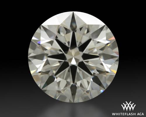 0.807 ct I VS2 A CUT ABOVE® Hearts and Arrows Super Ideal Round Cut Loose Diamond