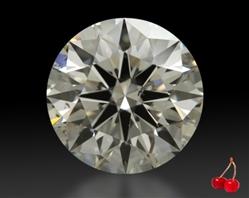 0.811 ct K SI1 Expert Selection Round Cut Loose Diamond