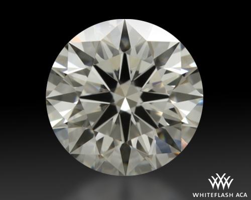0.901 ct H VVS2 A CUT ABOVE® Hearts and Arrows Super Ideal Round Cut Loose Diamond