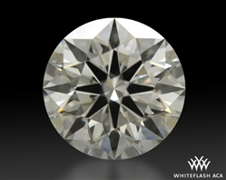 1.216 ct J VS2 A CUT ABOVE® Hearts and Arrows Super Ideal Round Cut Loose Diamond