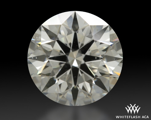 1.26 ct H SI2 A CUT ABOVE® Hearts and Arrows Super Ideal Round Cut Loose Diamond