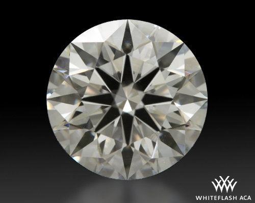 1.356 ct G VS1 A CUT ABOVE® Hearts and Arrows Super Ideal Round Cut Loose Diamond