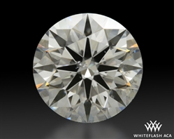 1.38 ct G SI2 A CUT ABOVE® Hearts and Arrows Super Ideal Round Cut Loose Diamond