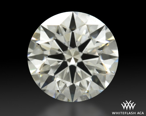 0.732 ct G SI1 A CUT ABOVE® Hearts and Arrows Super Ideal Round Cut Loose Diamond