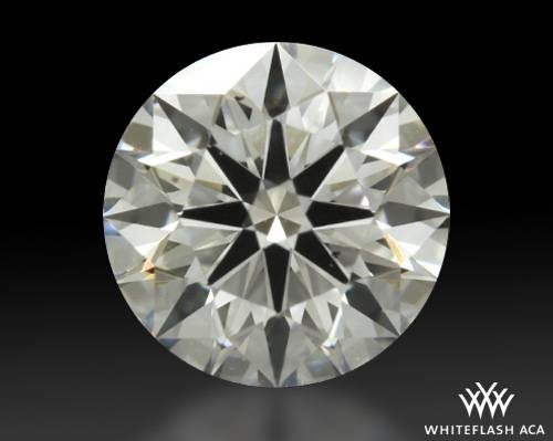 0.716 ct H VS2 A CUT ABOVE® Hearts and Arrows Super Ideal Round Cut Loose Diamond