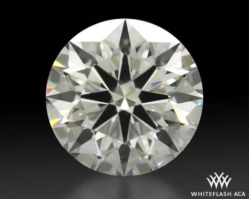 0.714 ct F SI1 A CUT ABOVE® Hearts and Arrows Super Ideal Round Cut Loose Diamond