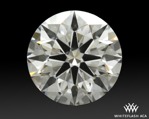 1.301 ct E VS2 A CUT ABOVE® Hearts and Arrows Super Ideal Round Cut Loose Diamond
