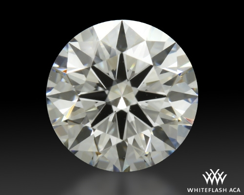1.342 ct F VS1 A CUT ABOVE® Hearts and Arrows Super Ideal Round Cut Loose Diamond