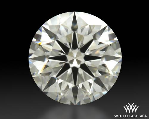 0.901 ct H VS2 A CUT ABOVE® Hearts and Arrows Super Ideal Round Cut Loose Diamond