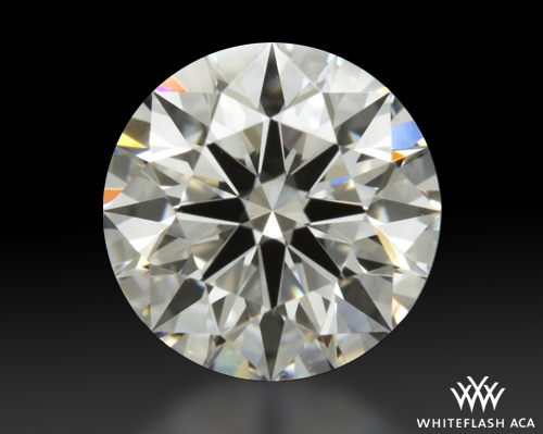 0.841 ct D VS1 A CUT ABOVE® Hearts and Arrows Super Ideal Round Cut Loose Diamond