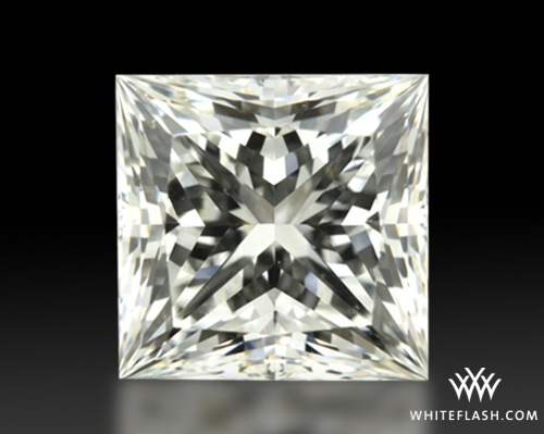 0.758 ct H VS1 A CUT ABOVE® Princess Super Ideal Cut Diamond