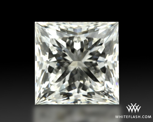 0.764 ct H VS2 A CUT ABOVE® Princess Super Ideal Cut Diamond