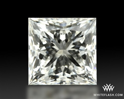 0.764 ct H VS2 A CUT ABOVE® Princess Super Ideal Cut Diamond