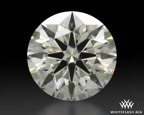 0.646 ct H VS1 A CUT ABOVE® Hearts and Arrows Super Ideal Round Cut Loose Diamond