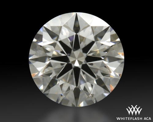 0.427 ct E SI1 A CUT ABOVE® Hearts and Arrows Super Ideal Round Cut Loose Diamond