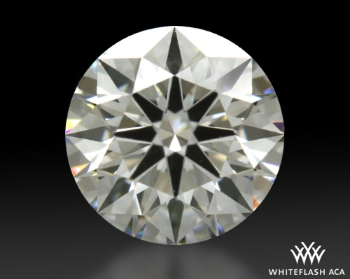 0.538 ct E VS1 A CUT ABOVE® Hearts and Arrows Super Ideal Round Cut Loose Diamond