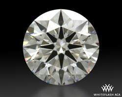 0.538 ct E VS1 A CUT ABOVE® Hearts and Arrows Super Ideal Round Cut Loose Diamond
