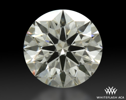 0.556 ct H VS1 A CUT ABOVE® Hearts and Arrows Super Ideal Round Cut Loose Diamond