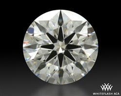 0.604 ct E VS2 A CUT ABOVE® Hearts and Arrows Super Ideal Round Cut Loose Diamond