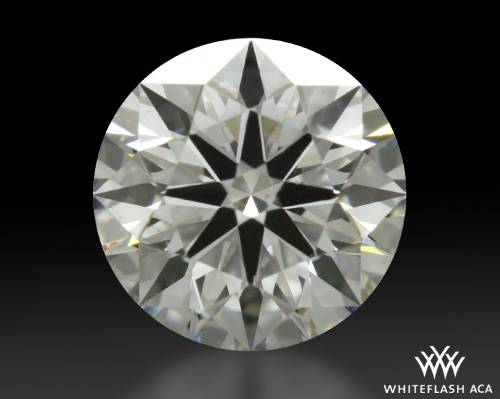 0.616 ct F VS2 A CUT ABOVE® Hearts and Arrows Super Ideal Round Cut Loose Diamond