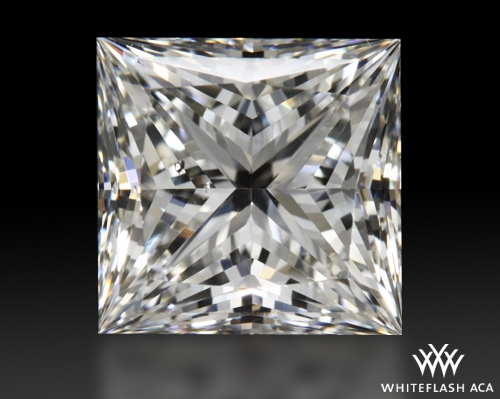 1.307 ct G SI1 A CUT ABOVE® Princess Super Ideal Cut Diamond