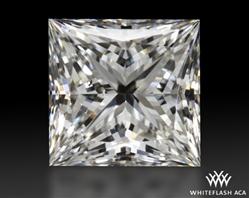 1.307 ct G SI1 A CUT ABOVE® Princess Super Ideal Cut Diamond