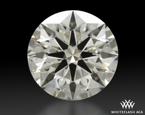 2.337 ct H SI1 A CUT ABOVE® Hearts and Arrows Super Ideal Round Cut Loose Diamond