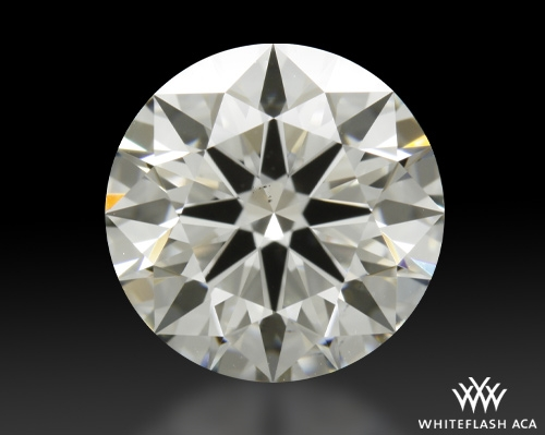 2.383 ct H VS2 A CUT ABOVE® Hearts and Arrows Super Ideal Round Cut Loose Diamond