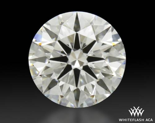 0.821 ct F VS1 A CUT ABOVE® Hearts and Arrows Super Ideal Round Cut Loose Diamond
