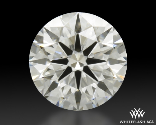 0.811 ct F VS1 A CUT ABOVE® Hearts and Arrows Super Ideal Round Cut Loose Diamond