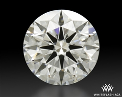 0.738 ct F SI1 A CUT ABOVE® Hearts and Arrows Super Ideal Round Cut Loose Diamond
