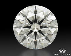0.731 ct G SI2 A CUT ABOVE® Hearts and Arrows Super Ideal Round Cut Loose Diamond