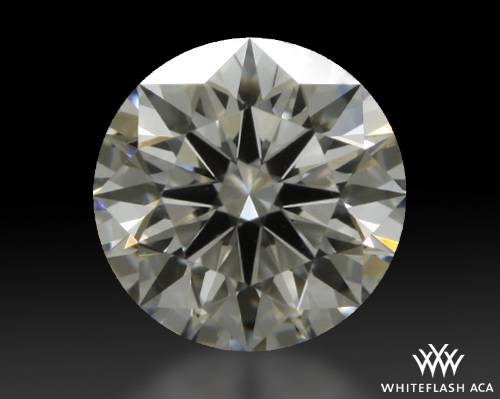 0.733 ct H VS1 A CUT ABOVE® Hearts and Arrows Super Ideal Round Cut Loose Diamond