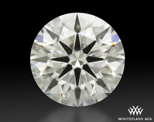 0.566 ct H VS2 A CUT ABOVE® Hearts and Arrows Super Ideal Round Cut Loose Diamond
