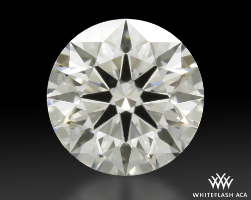 0.508 ct G SI1 A CUT ABOVE® Hearts and Arrows Super Ideal Round Cut Loose Diamond