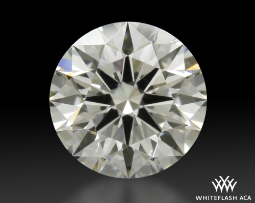 0.504 ct I VS2 A CUT ABOVE® Hearts and Arrows Super Ideal Round Cut Loose Diamond