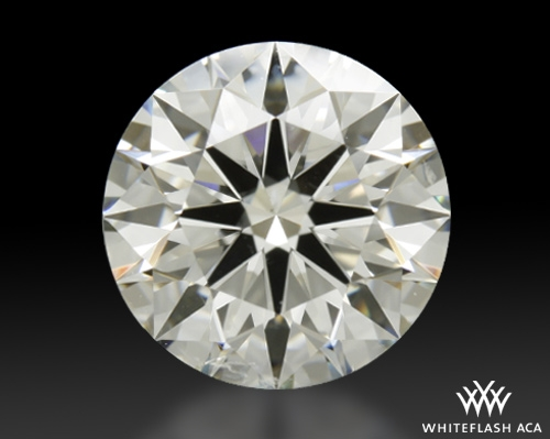 2.042 ct I SI1 A CUT ABOVE® Hearts and Arrows Super Ideal Round Cut Loose Diamond