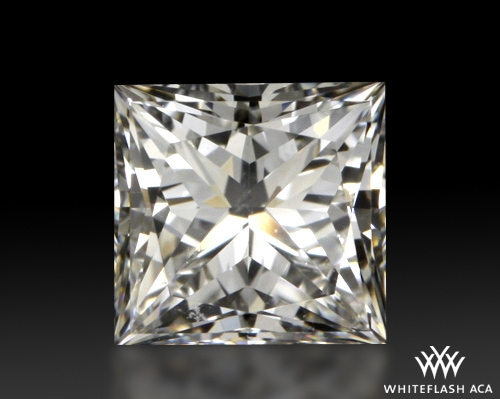 0.808 ct H VS2 A CUT ABOVE® Princess Super Ideal Cut Diamond