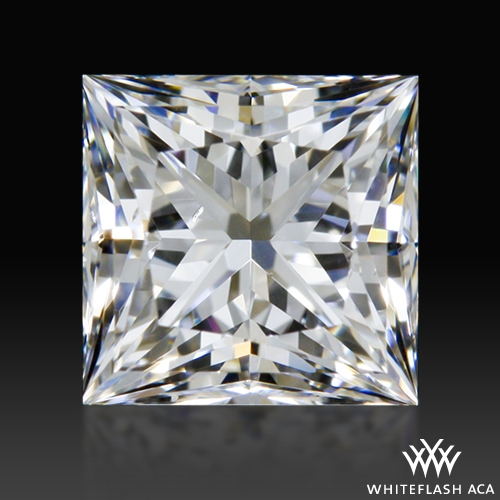 0.597 ct F VS2 A CUT ABOVE® Princess Super Ideal Cut Diamond