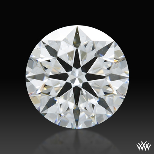 0.762 ct F VS1 A CUT ABOVE® Hearts and Arrows Super Ideal Round Cut Loose Diamond