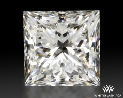 1.712 ct H VS1 A CUT ABOVE® Princess Super Ideal Cut Diamond
