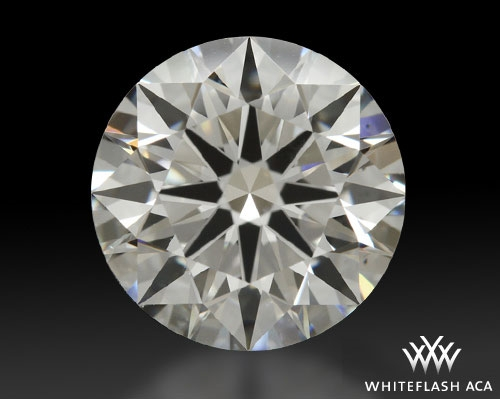 1.323 ct G VS2 A CUT ABOVE® Hearts and Arrows Super Ideal Round Cut Loose Diamond