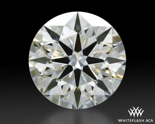 0.387 ct I VS1 A CUT ABOVE® Hearts and Arrows Super Ideal Round Cut Loose Diamond