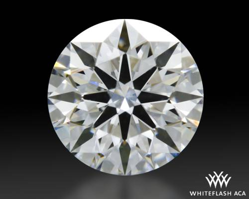 0.42 ct E VVS2 A CUT ABOVE® Hearts and Arrows Super Ideal Round Cut Loose Diamond
