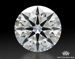 0.42 ct E VVS2 A CUT ABOVE® Hearts and Arrows Super Ideal Round Cut Loose Diamond